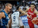 Shawn Huff of Finland and Canadian Philip Scrubb are getting ready to play for their respective countries at the FIBA Basketball World Cup 2019 Qualifiers. They talk to Taking The Charge about it. - photos from FIBA