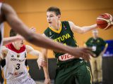 Rokas Jokubaitis will be one of the main players to watch at the Adidas Next Generation Tournament Kaunas
