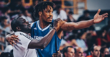 Jean Amine Toupane has coached many of France's next superstars at the CFBB/INSEP academy. He talks to Taking The Charge about the team's recent victory in the NM1. - Photo: FIBA