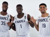 Digue Diawarra, Abdoulaye N'Doye and Bathiste Tchouaffe join Jules Rambaut as the French quartet can achieve the U16-U18-U20 European Championship generational three-peat if they win in Chemnitz - Photo FIBA