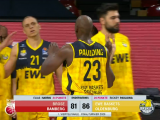 Oldenburg let Bamberg back into game, still prevail in Game 1