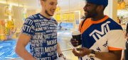 Mayweather gifted legendary Kobe-LeBron card by Wooter